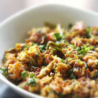 Anda Bhurji (Spicy Indian Scrambled Eggs).