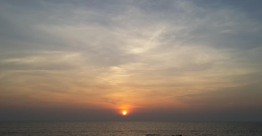 Sunset by Kushal Mittal - Landscapes Sunsets & Sunrises