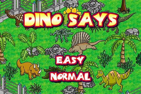 DinoGamez Dino Says