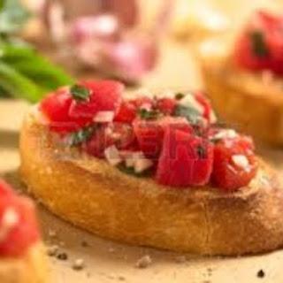DASH Tomato Basil Bruschetta