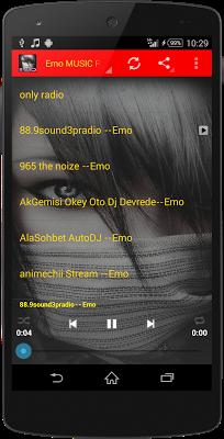 Emo MUSIC Radio - screenshot