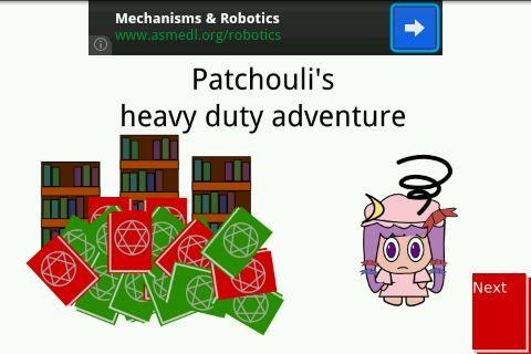 Patchouli's Heavy Duty Adv.
