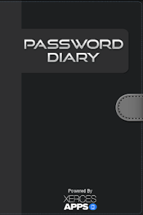 Password Diary