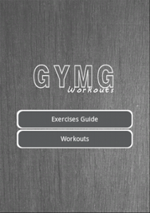 GYMG Workouts