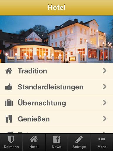 【免費旅遊App】Hotel Deimann-APP點子