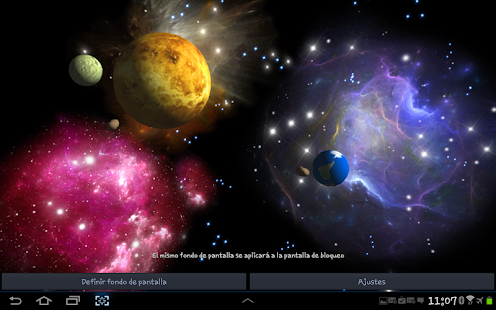 3D Space Live Wallpaper HD - screenshot thumbnail