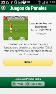 Juegos de Penales - screenshot thumbnail