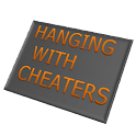 Hanging With Cheaters logo