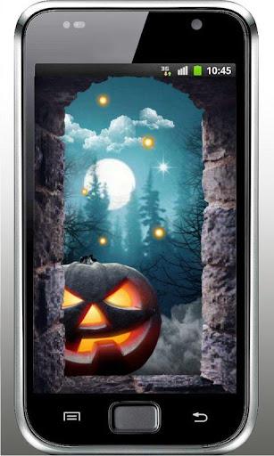 Halloween Moon live wallpaper