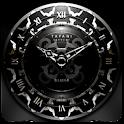 SILVER MOON ALARM CLOCK WIDGET icon