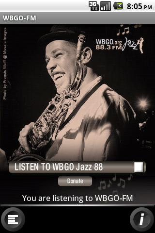 WBGO - The Jazz Source - screenshot