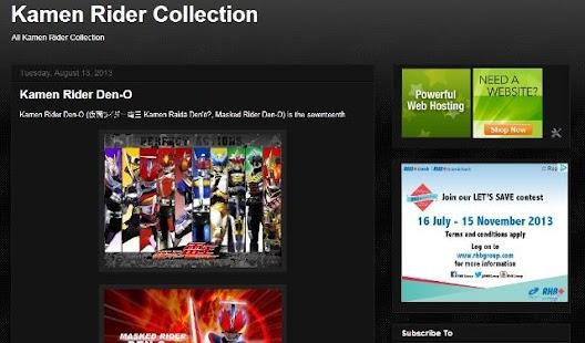 Kamen Rider Collection
