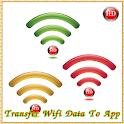 Transfer Wifi Data To App icon