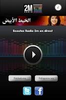 Screenshot of 2M Maroc Radio