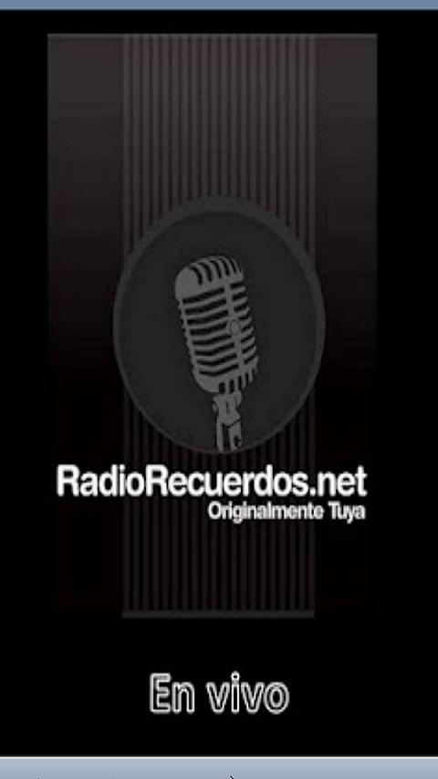Radio Recuerdos- screenshot