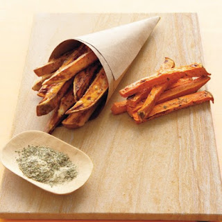 Baked Sweet-Potato Fries.