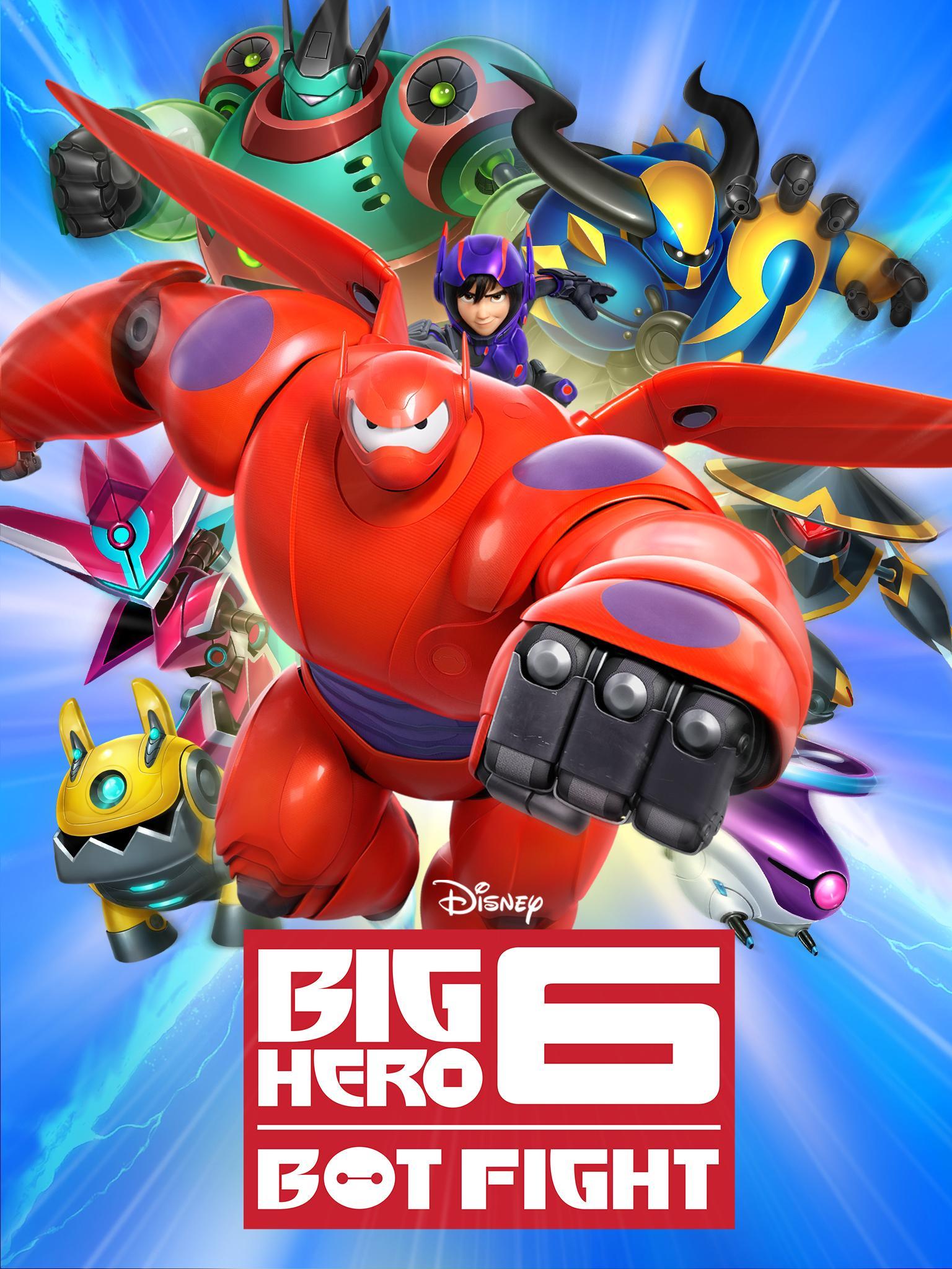 Big Hero 6 Bot Fight screenshot #5