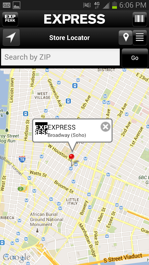 EXPRESS - screenshot