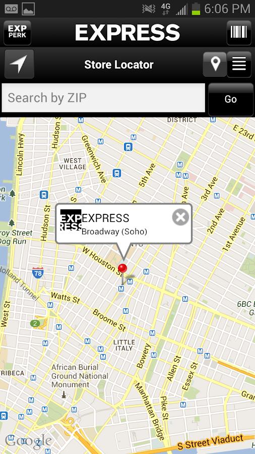 EXPRESS - screenshot