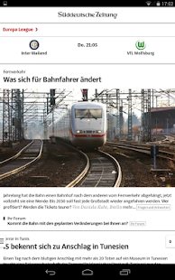 SZ.de - Nachrichten - screenshot thumbnail