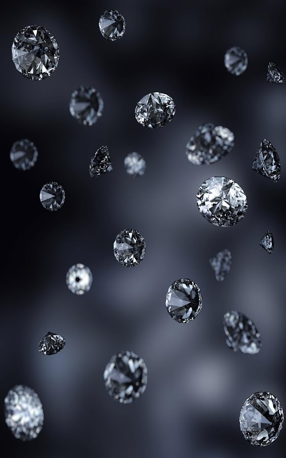 falling diamonds live wallpaper