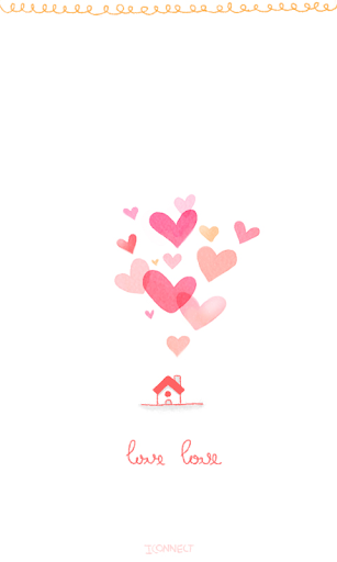 lovelove go launcher theme