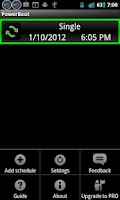 Screenshot of PowerBoot