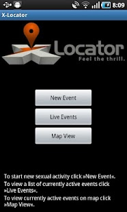 X-Locator Dogging App - screenshot thumbnail