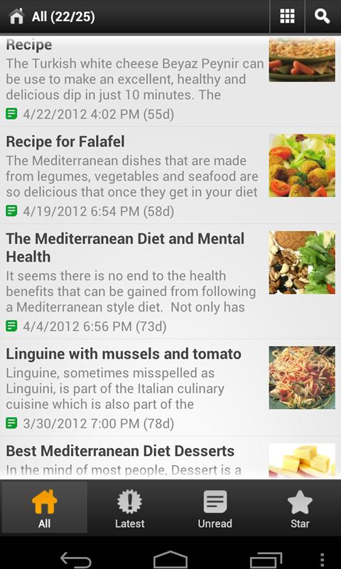 Mediterranean Diet For All - screenshot