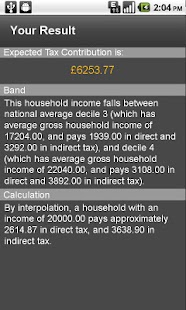 UK Tax Estimator - screenshot thumbnail