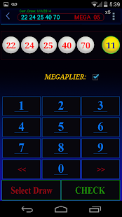 Mega Millions lottery - screenshot thumbnail