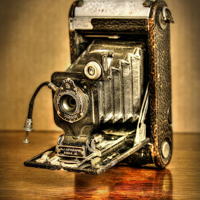 Autographic Kodak Jr. by Elk Baiter - Artistic Objects Antiques ( film, still life, camera, kodak, antique, autographic,  )
