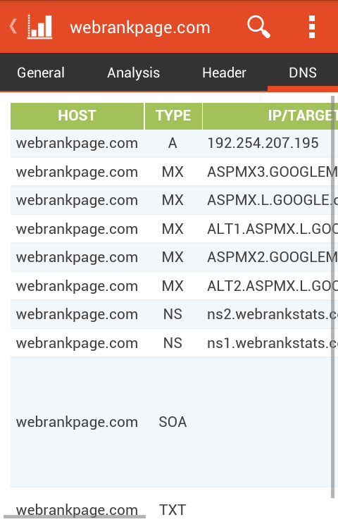 WebRank SEO - screenshot