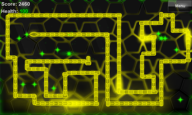 Glow Snake- screenshot