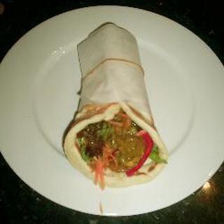 Prawn Curry in Naan Bread Recipe