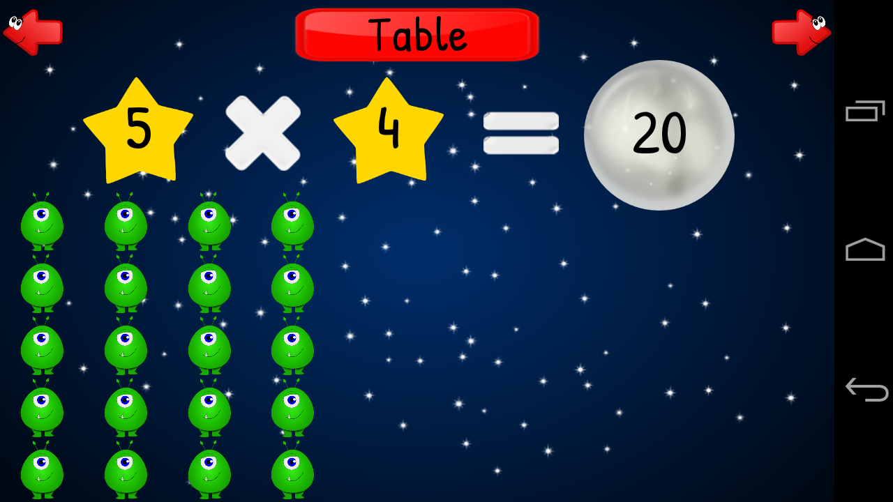Times Tables Multiplication- screenshot
