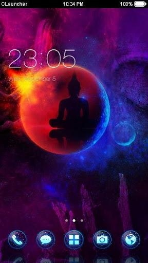 '佛祖'手機主題——暢遊桌面