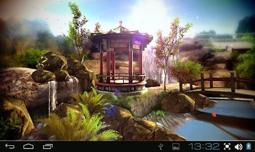 Oriental Garden 3D free - screenshot thumbnail