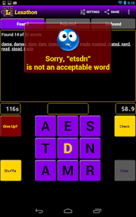 Lexathon® word jumble - screenshot thumbnail
