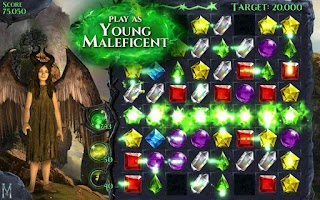 Screenshot of Maleficent Free Fall