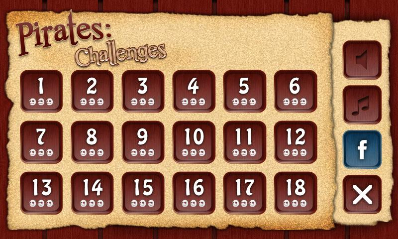 Pirates: Challenges AdFree - screenshot