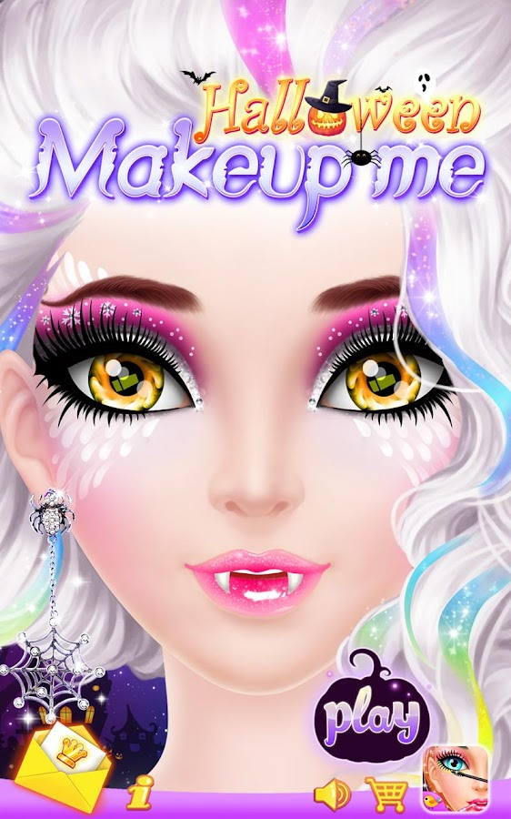Halloween Makeup Me- screenshot