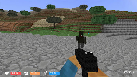 Cube Gun 3D : Zombie Island 1.0 screenshot 44159
