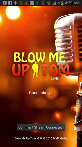 Blow Me Up Tom LIVE