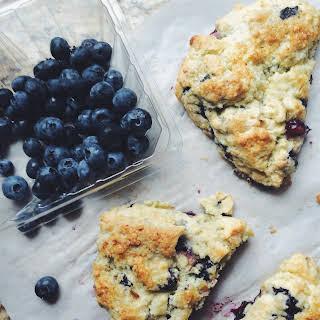 Blueberry Scones No Egg Recipes.