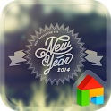 New Year 2014 dodol theme icon