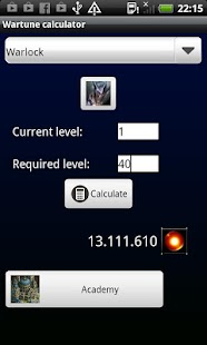 Wartune Daru Calculator - screenshot thumbnail
