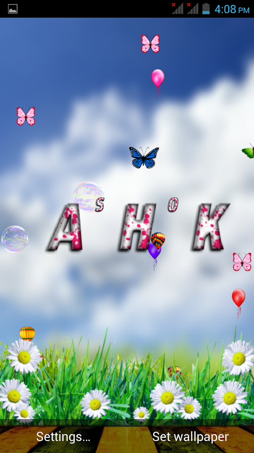3d my name wallpaper android apps on google play