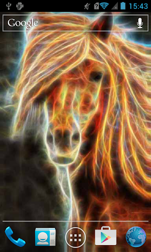 Colorful Shining Horse Live