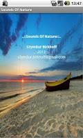 Screenshot of Sounds Of Nature